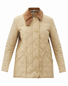 Cotswold Vintage check-lined quilted jacket