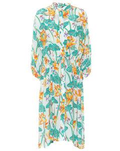 Paula's Ibiza printed silk shirt dress