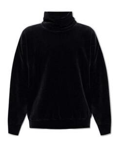 Medusa Printed Long-Sleeved Robe