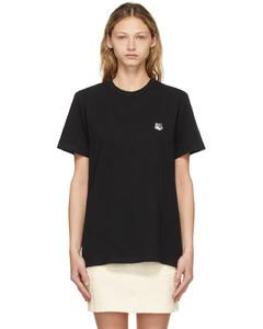 黑色Fox Head Patch Classic T恤