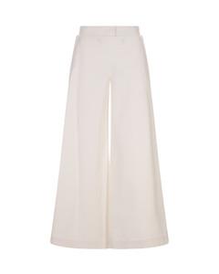 High-rise belted denim shorts