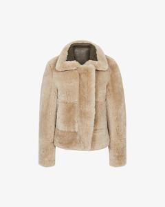 Hadi reversible shearling aviator jacket