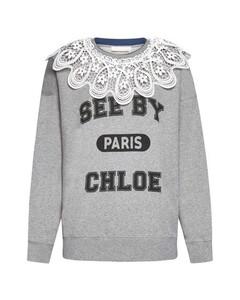 Shorts in misto lino con ricami TWINSET 211TT2613 06160