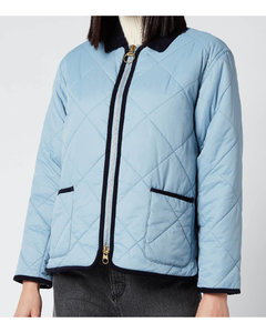 Women's Quilty Quilted Jacket - Fade Blue
