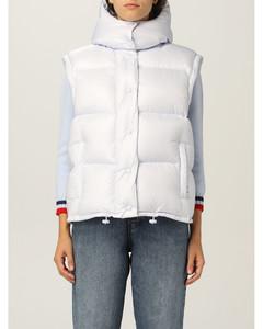 nylon down jacket with logo