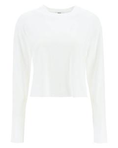 Ribbed-waist cashmere-blend leggings