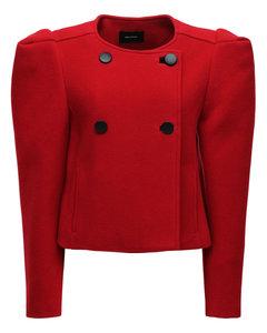 Fileali Wool Blend Short Coat
