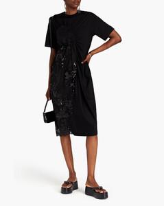 Logo Printed Stripe Sweater