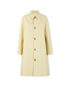 Long waterproof cotton coat