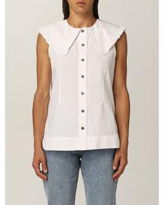 shirt in organic cotton poplin