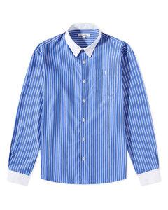 Women's Printed Mesh Top - Kelly Green