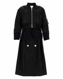 Layered Midi Coat