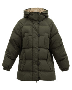 Nedaade down-filled quilted-shell parka
