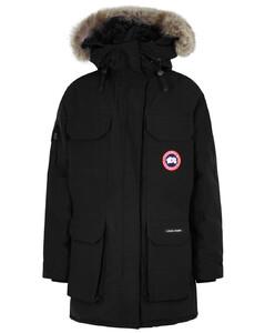 Expedition black fur-trimmed Arctic-Tech parka