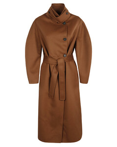 4-bar stripe puffer coat