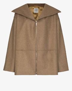 Menfi oversized zip-up coat