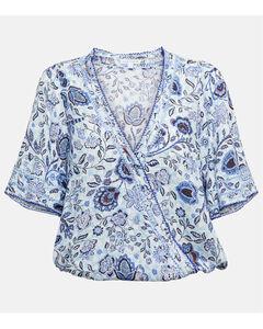 Black denim jumpsuit with logo