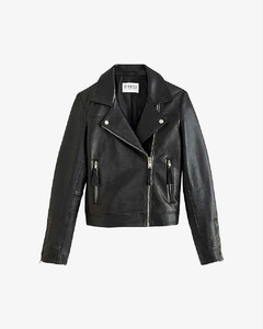 Castel leather biker jacket