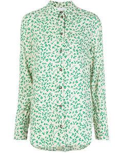 Floral Shirt Green