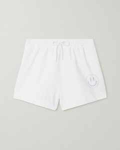 Isoli Printed Recycled Cotton-blend Jersey Shorts