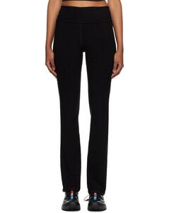 Mini VLOGO silk wide-leg pants
