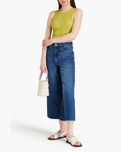 Johanna ribbed cashmere-blend longline dress