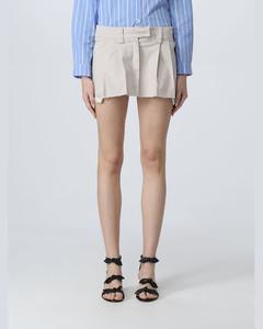 白色4-Bar套头连衣裙