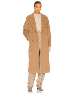 Madame Coat in Brown,Neutral