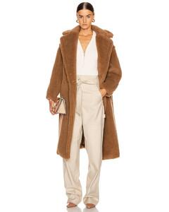 Teddy Coat in Brown,Neutral