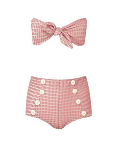 Poppy high-waisted bikini