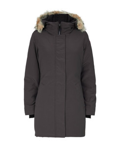 Victoria Fur-Trim Parka