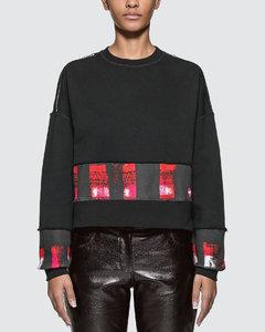 Shoulder Zipped Sweatshirt