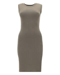 Nicki棉质混纺蕾丝长罩衫裙