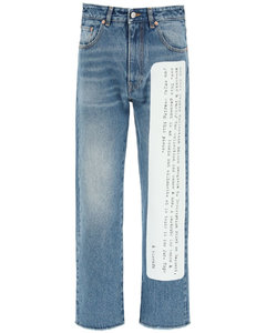 Jeans Mm6 Maison Margiela for Women Stone Wash