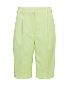 帆布高腰短裤