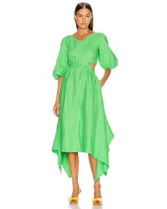 Karen Dress in Green
