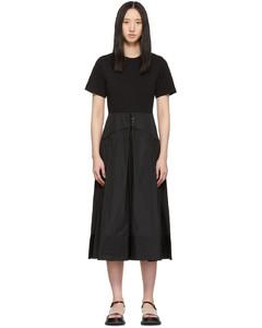 黑色T恤連衣裙