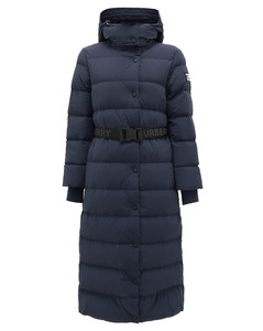 Eppingham belted down-filled puffer coat