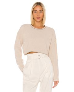 Arizona cross-stitched linen-blend dress