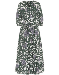 Edita floral cotton dress