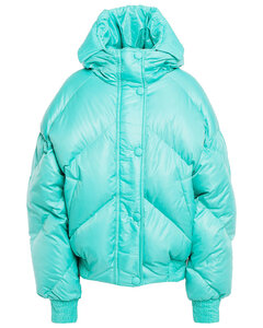 Woman Dunlope Quilted Shell Hooded Down Coat