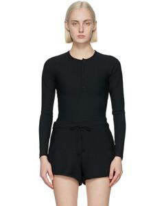 silk-blend leggings