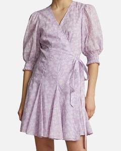 lace-up gathered T-shirt