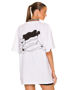 Mikey Knit Dress in Blue