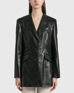 Cancun Vegan Leather Blazer