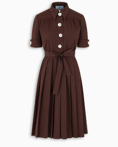 Cocoa flared dress