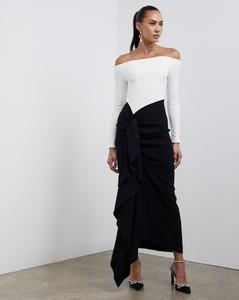 Renzo Floral Pleated Midi Dress