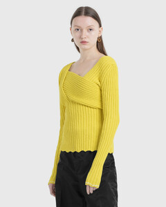 Textured Boucle Jumper