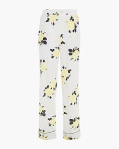 Woman Total Eclipse Floral-print Crepe Straight-leg Pants