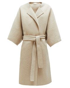 Dreeton belted cashmere coat